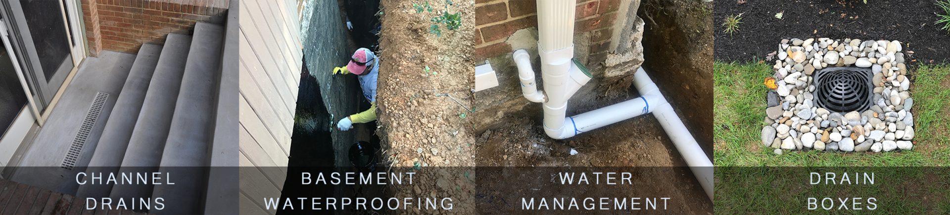 water management drainage repair
