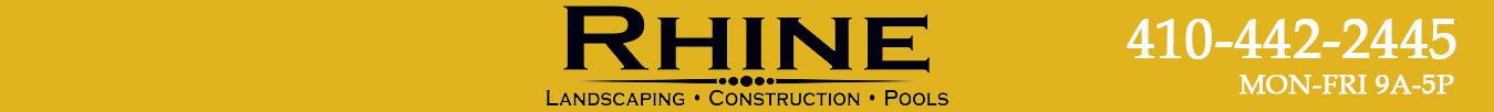 Rhine Landscaping Logo